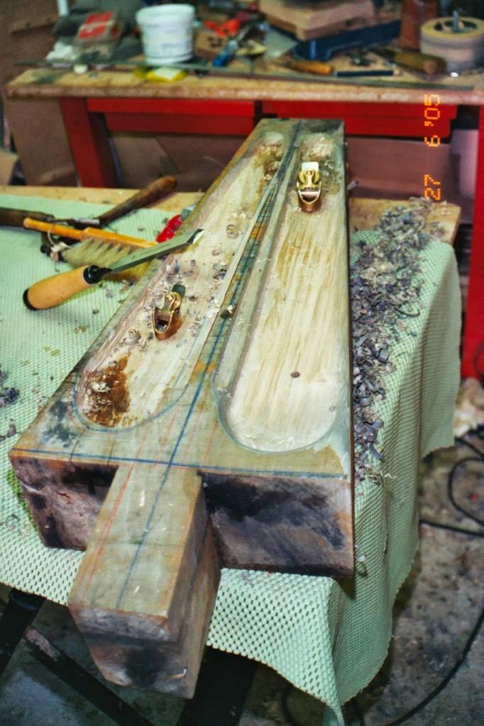 fabrication harpe celtique