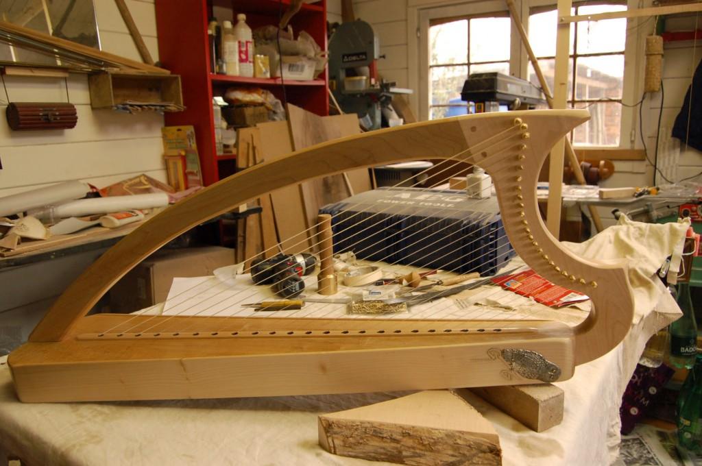 Harpe médievale Jérome Bosch-2
