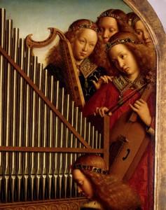 Angéliques : Tryptique de Van Eyck