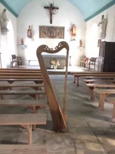 Arpa Topaga dans la Chapelle de Saint Mériadec